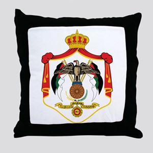 Jordan Coat Of Arms Throw Pillow