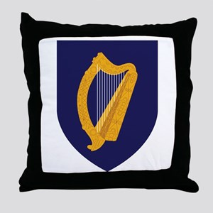 Ireland Coat Of Arms Throw Pillow