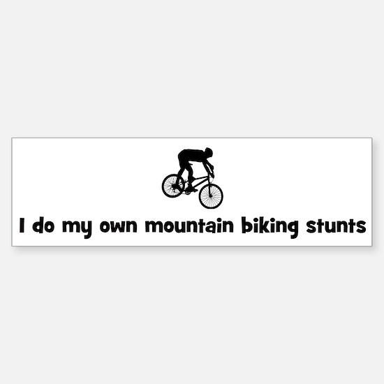 Mountain Biking stunts Bumper Bumper Bumper Sticker