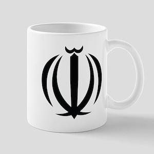Iran Coat Of Arms Mugs