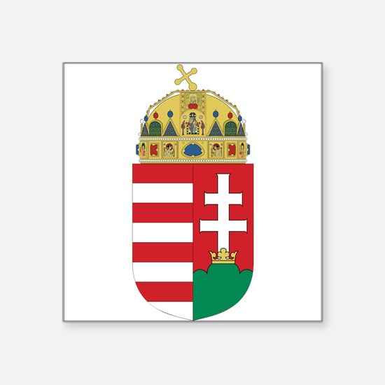 Hungary Coat Of Arms Sticker