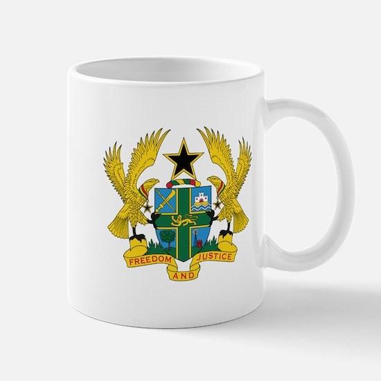 Ghana Coat Of Arms Mugs