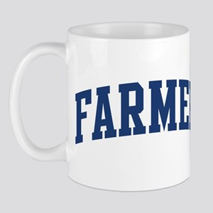 FARMER design (blue) Mug