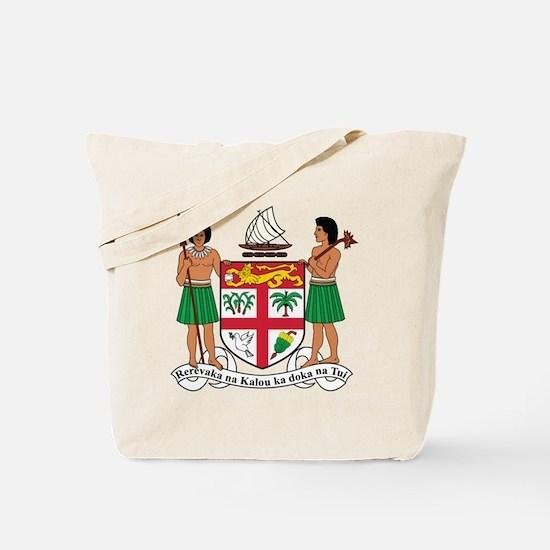 Fiji Coat Of Arms Tote Bag