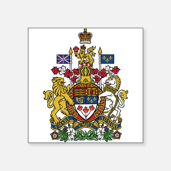 Canada Coat Of Arms Sticker