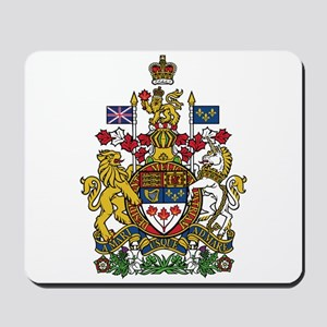 Canada Coat Of Arms Mousepad