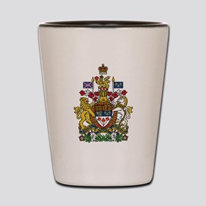 Canada Coat Of Arms Shot Glass