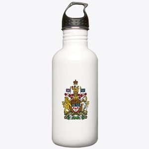 Canada Coat Of Arms Water Bottle