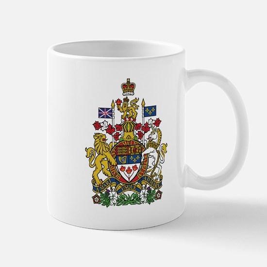 Canada Coat Of Arms Mugs