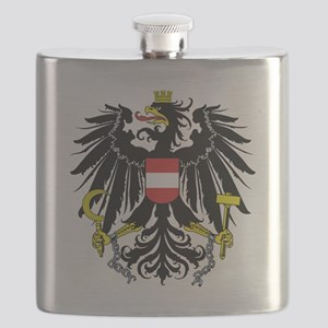 Austria Coat Of Arms Flask