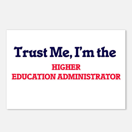 Trust me, I'm the Higher Postcards (Package of 8)