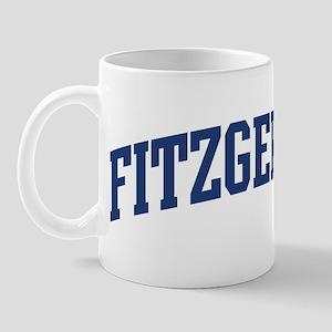 FITZGERALD design (blue) Mug