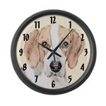 American Foxhound Large Wall Clock