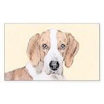 American Foxhound Sticker (Rectangle 10 pk)