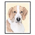 American Foxhound Small Poster