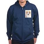 American Foxhound Zip Hoodie (dark)