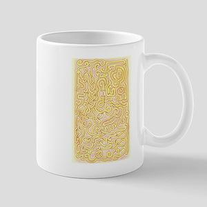 Orange Maze 1 Mugs