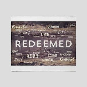 Redeemed Throw Blanket