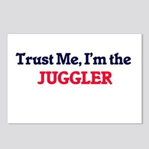 Trust me, I'm the Juggler Postcards (Package of 8)