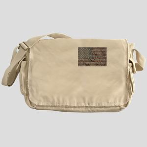 3 percenter flag Messenger Bag