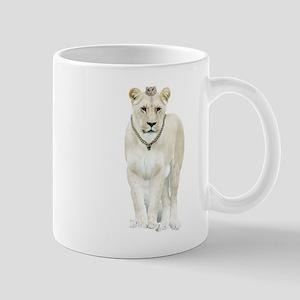 White Lioness Mugs