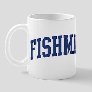 FISHMAN design (blue) Mug