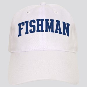 FISHMAN design (blue) Cap