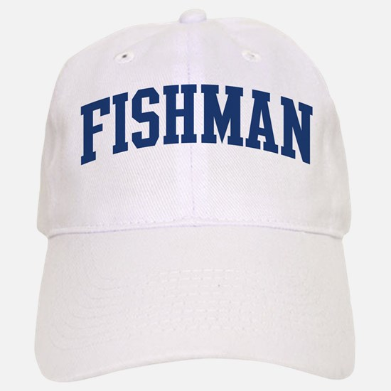 FISHMAN design (blue) Baseball Baseball Cap