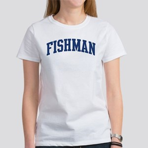 FISHMAN design (blue) Women's T-Shirt