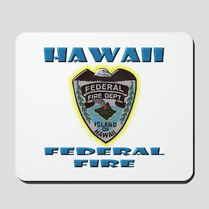Hawaii Federal Fire Department Mousepad
