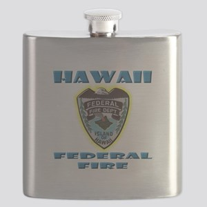 Hawaii Federal Fire Department Flask