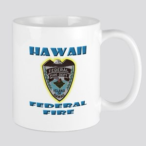Hawaii Federal Fire Department Mug