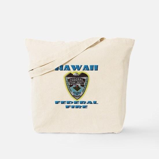 Hawaii Federal Fire Department Tote Bag
