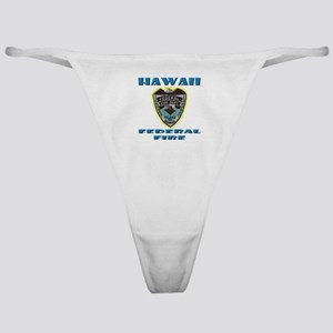 Hawaii Federal Fire Department Classic Thong