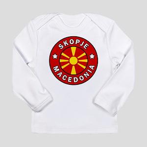Skopje Macedonia Long Sleeve T-Shirt