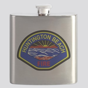 Huntington Beach Fire Flask