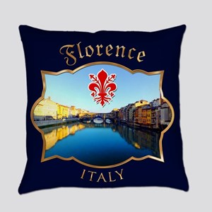 Ponte Vecchio - Florence, Italy Everyday Pillow