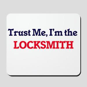 Trust me, I'm the Locksmith Mousepad