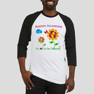 Autism Awareness Sunflower Baseball Jersey