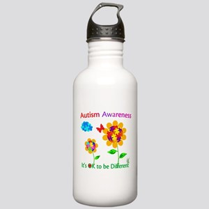 Autism Awareness Sunfl Stainless Water Bottle 1.0L