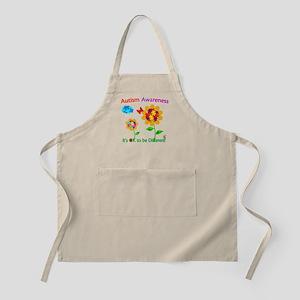 Autism Awareness Sunflower Apron