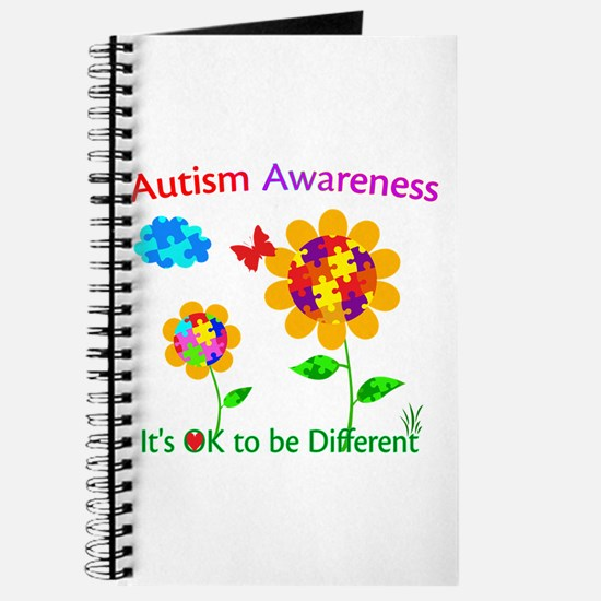 Autism Awareness Sunflower Journal