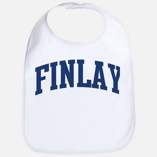 FINLAY design (blue) Bib