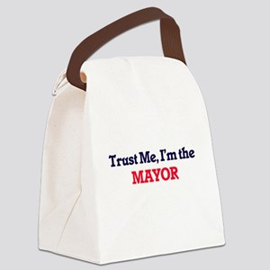 Trust me, I'm the Mayor Canvas Lunch Bag