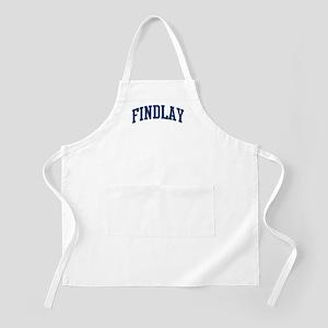 FINDLAY design (blue) BBQ Apron