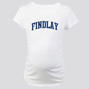 FINDLAY design (blue) Maternity T-Shirt
