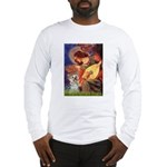 Angel 3 - Yorkshire Terrier Long Sleeve T-Shirt