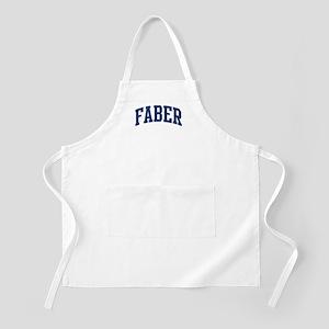 FABER design (blue) BBQ Apron