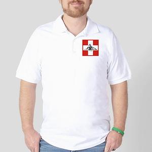 flag&mountain Golf Shirt