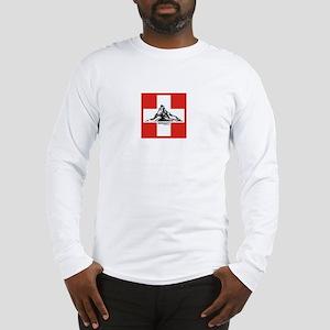 flag&mountain Long Sleeve T-Shirt